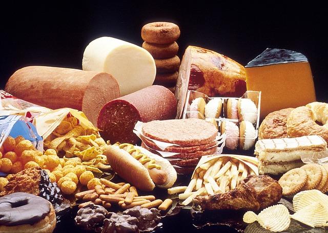Alimentos malos para una dieta saludable, Asthetik